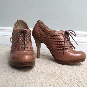 Aldo leather dress booties